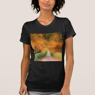 Autumn Road Cognac Region France T-shirt