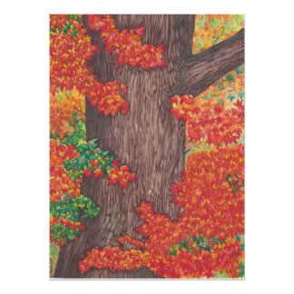 Autumn robe poster