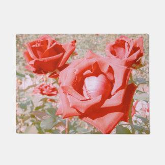 Autumn Roses Doormat