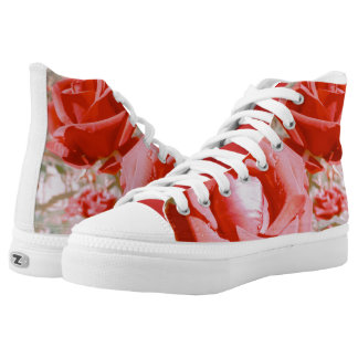 Autumn Roses High Tops