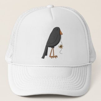 Autumn Scarecrows · Crow Trucker Hat