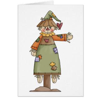 Autumn Scarecrows · Scarecrow 8 Card