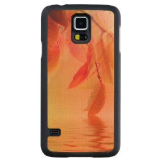 Autumn Scene Carved Maple Galaxy S5 Case
