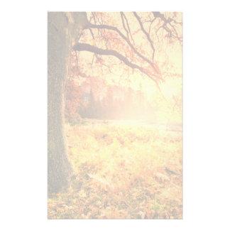 Autumn Scene Custom Stationery