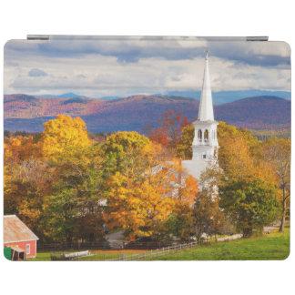 Autumn Scene In Peacham, Vermont, USA iPad Cover