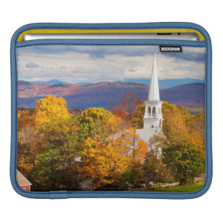 Autumn Scene In Peacham, Vermont, USA iPad Sleeve