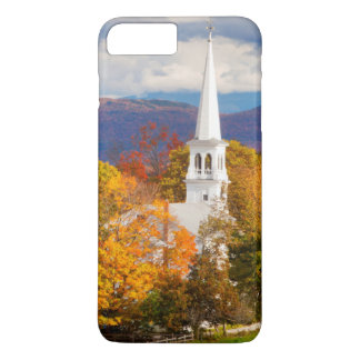 Autumn Scene In Peacham, Vermont, USA iPhone 8 Plus/7 Plus Case