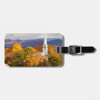 Autumn Scene In Peacham, Vermont, USA Luggage Tag