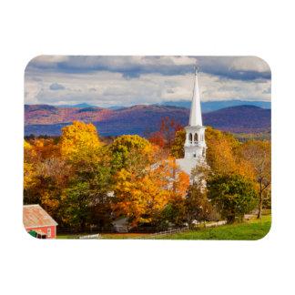 Autumn Scene In Peacham, Vermont, USA Magnet