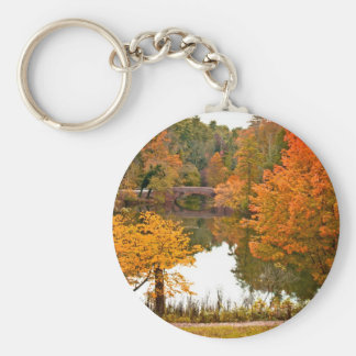 Autumn Scene Key Ring