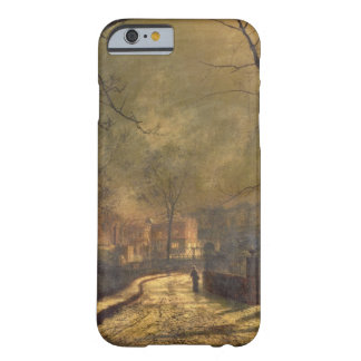 Autumn Scene, Leeds, 1874 (oil on board) Barely There iPhone 6 Case