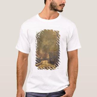 Autumn Scene, Leeds, 1874 (oil on board) T-Shirt