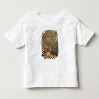 Autumn Scene, Leeds, 1874 (oil on board) Toddler T-Shirt