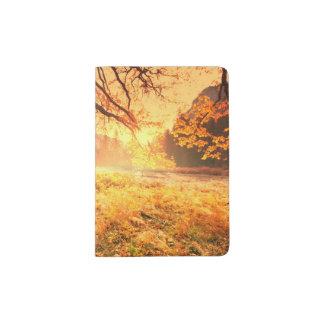 Autumn Scene Passport Holder