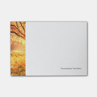 Autumn Scene Post-it Notes