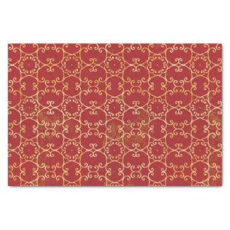 Autumn Scrolls Pattern Tissue Paper