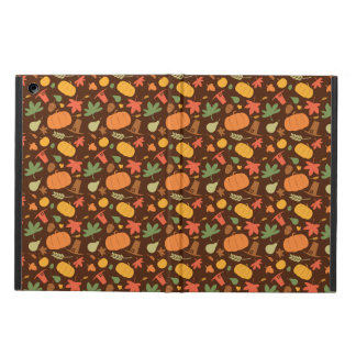 Autumn seamless background, Thanksgiving day. iPad Air Case