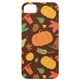 Autumn seamless background, Thanksgiving day. iPhone 5 Case