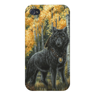 Autumn Shadow Wolf Case For The iPhone 4