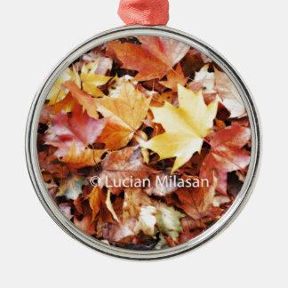 Autumn soul christmas ornament