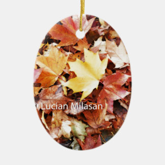 Autumn soul christmas ornament