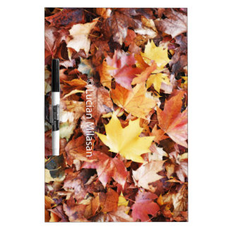 Autumn soul dry erase board