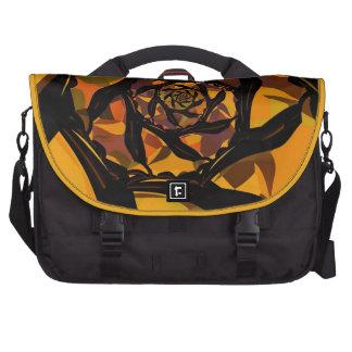 Autumn Spiral Fractal  Commuter 2.0 Laptop Bag. Commuter Bags