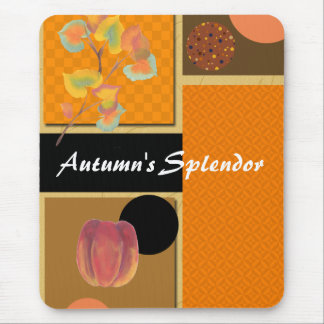 Autumn Splendor Art Mouse Pad