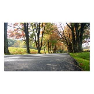 Autumn Splendor Business Card
