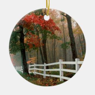 Autumn Splendor Christmas Tree Ornament
