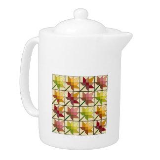 Autumn Splendor Large Teapot