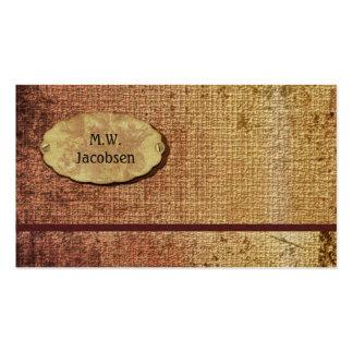 Autumn Splendor Textured Professional Business Card Templates