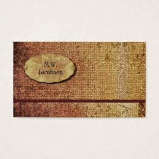 Autumn Splendor Textured Professional Custom Business Card