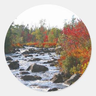 Autumn Splendor / Thanksgiving Round Sticker
