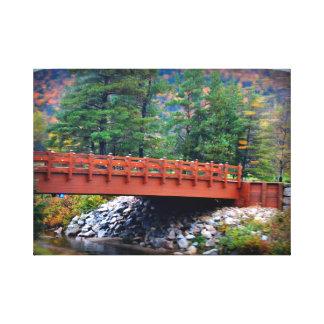 Autumn Splendor Wrapped Canvas Canvas Print