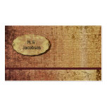Autumn Splendour Textured Professional Business Card Templates