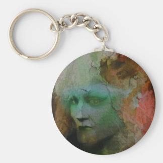 Autumn  Sprite Basic Round Button Key Ring
