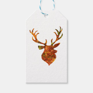 Autumn Stag Gift Tags