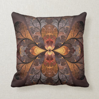 Autumn Stained Glass Cushion