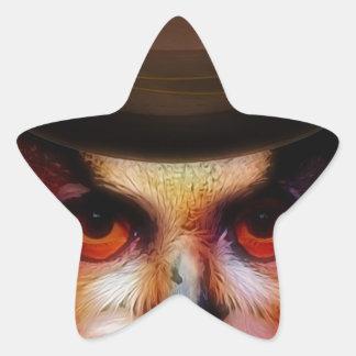 Autumn Star Sticker