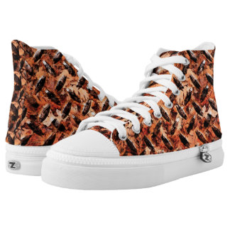 Autumn Steel Printed Shoes