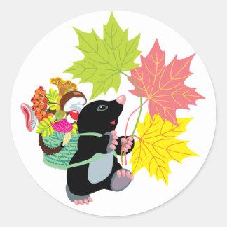 autumn stickers
