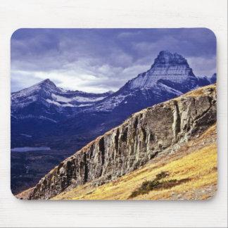 Autumn Storm Clouds - Glacier Lake National Park Mouse Pad