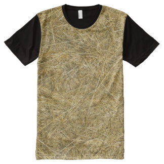 Autumn Straw All-Over Print T-Shirt