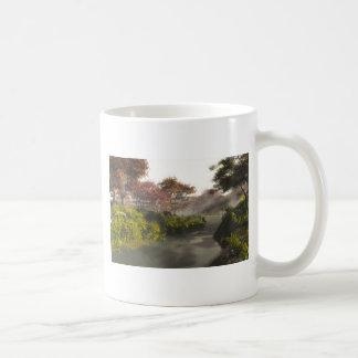 Autumn Stream Basic White Mug