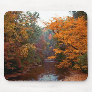 Autumn Stream Mousepad