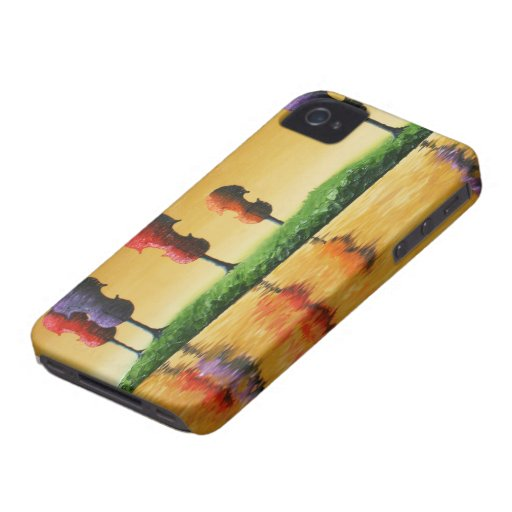 Autumn Strings iPhone 4 Case-Mate Case