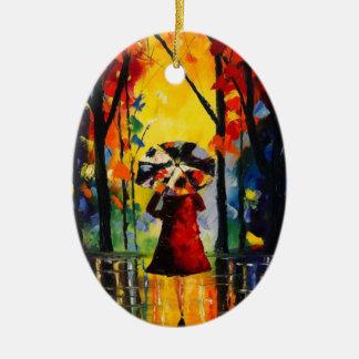 Autumn Stroll Christmas Ornament