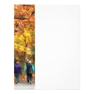 Autumn Stroll Flyer