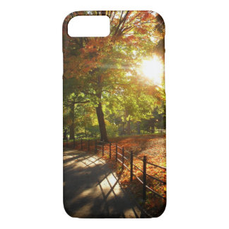 Autumn Sun in Central Park - New York City iPhone 7 Case